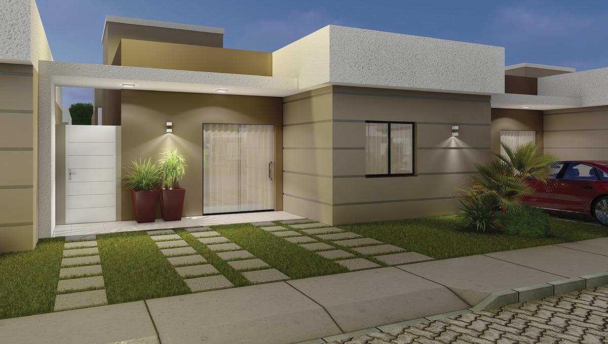 Valência Residence – Pel Construtora – Casa 3 quartos