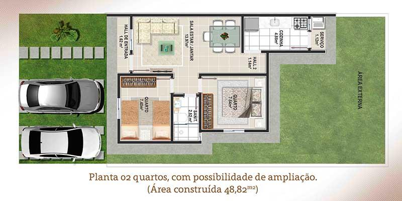 Residencial-Hebrom-planta-baixa-2-quartos