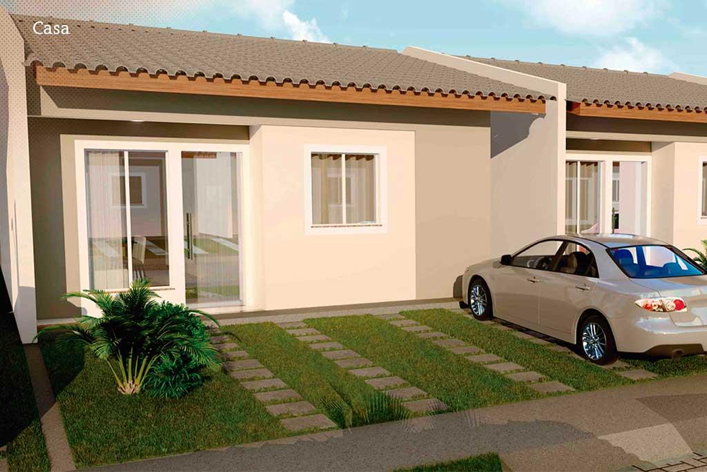 Hebrom Residencial – Casas 2 e 3 quartos