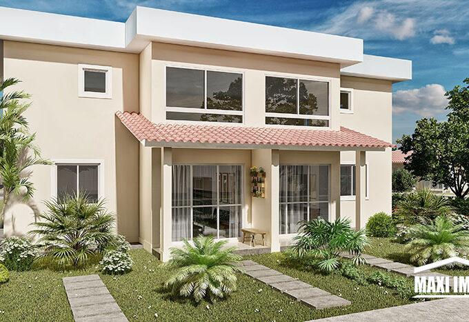 Duo Jardim Paradiso fachada 2 pavimentos