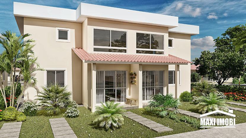 Duo Jardim Paradiso -Gráfico Empreendimentos – Casa 2 ou 3 quartos